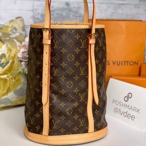 ✅Authentic LOUIS VUITTON Bucket GM (Large) Bag